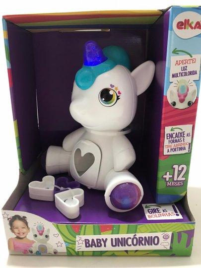 Brinquedo Baby Unicórnio Elka
