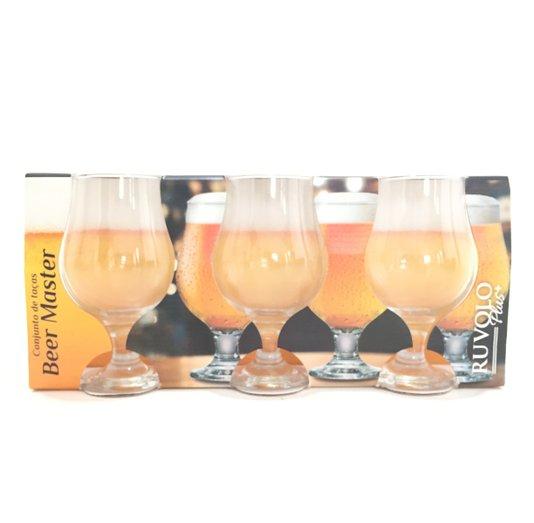 Conjunto de Taças de Cerveja Ruvolo Beer Master