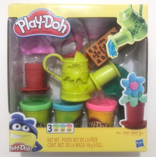 Massa de Modelar Kit de Jardinagem Play-Doh